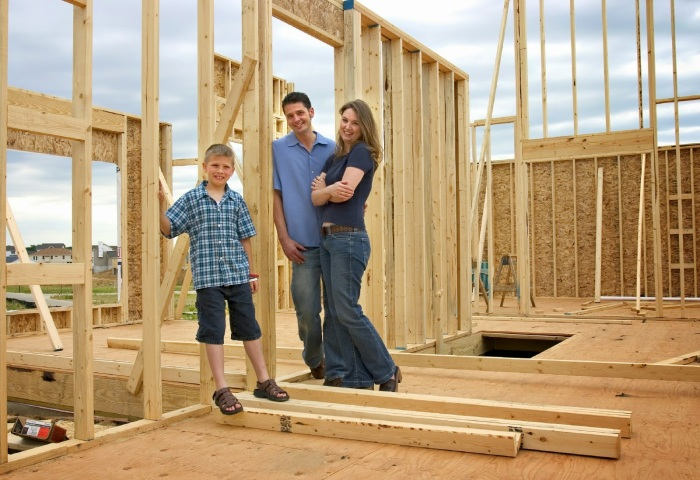 Family-and-New-Home-Building