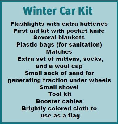 Winter Car Kit